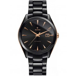 Rado Mens HyperChrome Black Ceramic Bracelet Watch R32252162