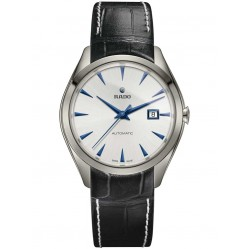Rado Mens HyperChrome Blue Leather Strap Watch R32254025