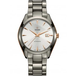 Rado Mens HyperChrome Two Color Ceramic Bracelet Watch R32256012