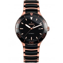 Rado Mens Centrix Two Colour Ceramic Bracelet Watch R30001152