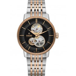 Rado Mens Coupole Classic Open Heart Automatic Two Tone Bracelet Watch R22894163