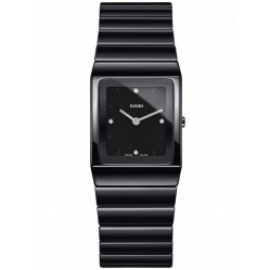 Rado Ladies Diamond Ceramic Bracelet Watch R21702702 S