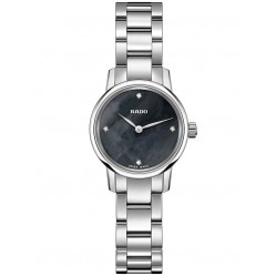 Rado Ladies Coupole Classic Diamonds Quartz Bracelet Watch R22890963 XS