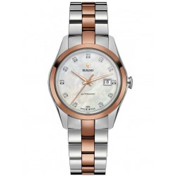 Rado Ladies Hyperchrome Two Tone Automatic Bracelet Watch R32087902