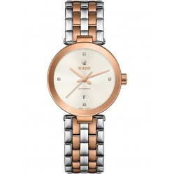 Rado Ladies Florence Diamonds Automatic Two Tone Steel Bracelet Watch R48900733