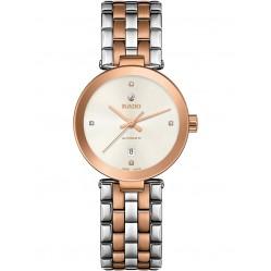 Rado Florence Automatic Diamonds Two Tone Bracelet Watch R48900733