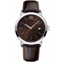 88 Rue Du Rhone Mens Double 8 Origin Strap Watch 87WA140022