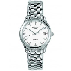 Longines Flagship White Dial Bracelet Watch L47744126