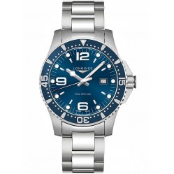 Longines HydroConquest Quartz Blue Dial Bracelet Watch L38404966