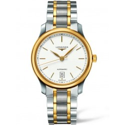 Longines Master White Dial Two Colour Bracelet Watch L26285127
