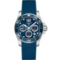 Longines HydroConquest Automatic Chronograph Blue Rubber Strap Watch L37834969
