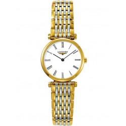 Longines La Grande Classique White Dial Two Colour Bracelet Watch L42092117