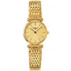 Longines La Grande Classique Gold Plated Bracelet Watch L42092328