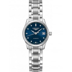 Longines Master Diamond Set Blue Dial Bracelet Watch L21284976