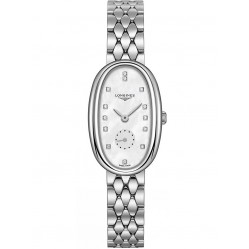 Longines Symphonette Diamond Set Mother Of Pearl Dial Bracelet Watch L23064876