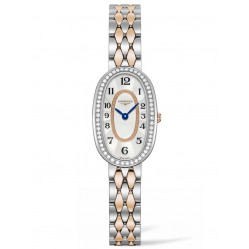 Longines Symphonette Diamond Set Mother Of Pearl Dial Two Colour Bracelet Watch L23055887