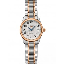 Longines Master Silver Dial Two Colour Bracelet Watch L21285797