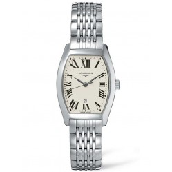 Longines Evidenza White Dial Bracelet Watch L21554716