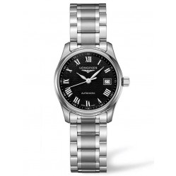 Longines Master Black Dial Bracelet Watch L22574516