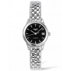 Longines Flagship Black Dial Bracelet Watch L42744526