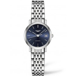 Longines Elegant Blue Dial Bracelet Watch L43094926