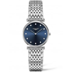 Longines La Grande Classique Diamond Set Blue Dial Bracelet Watch L45124976