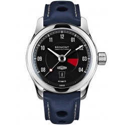Bremont JAGUAR MKIII Black Dial Strap Watch BJ-III/BK
