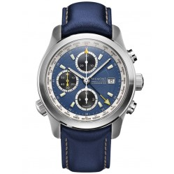 Bremont ALT1-WT WORLD TIMER Blue Strap Watch ALT1-WT/BL