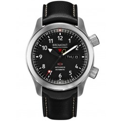 Bremont MARTIN-BAKER II Anthracite Tone Black Dial Strap Watch MBII-BK/AN