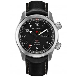 Bremont MARTIN-BAKER II Orange Tone Black Dial Strap Watch MBII-BK/OR