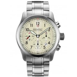 Bremont ALT1-P PILOT Cream Bracelet Watch ALT1-P2/CR/BR