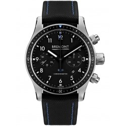Bremont BOEING MODEL 247 Stainless Steel Black Dial Watch BB247-SS/BK