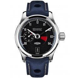 Bremont JAGUAR MKI Black Dial Strap Watch BJ-I/BK