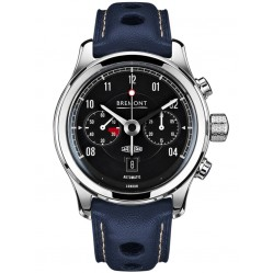 Bremont JAGUAR MKII Black Dial Strap Watch BJ-II/BK