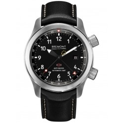 Bremont MARTIN-BAKER III Orange Tone Black Dial Strap Watch MBIII/OR