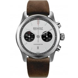 Bremont ALT1-C CLASSIC Brown Leather Strap Watch ALT1-C/WH-BK