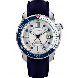 Bremont SUPERMARINE S500 Waterman Limited Edition Blue Strap Watch S500/WATERMAN