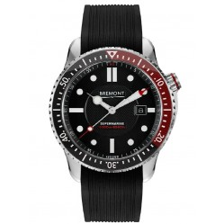 Bremont SUPERMARINE S2000 Red Professional Diving Rubber Strap Watch S2000/RED