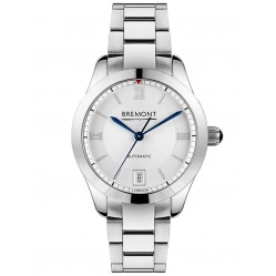 Bremont SOLO-34 LC White Dial Bracelet Watch SOLO-34/LC-WH-BR