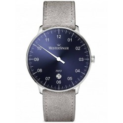 MeisterSinger Mens Neo Plus Automatic Strap Watch NE408
