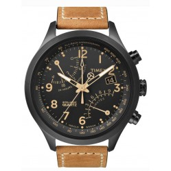 Timex Intelligent Quartz Mens Fly-Back Chronograph Watch T2N700