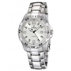 Festina Mens Stainless Steel Watch F16636/1