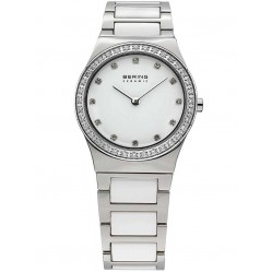 Bering Ladies White Ceramic Bracelet Watch 32430-754