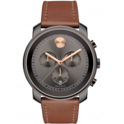 Movado Mens Bold Brown Watch 3600421