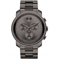 Movado Mens Bold Grey Watch 3600277
