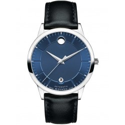 Movado Mens 1881 Automatic Blue Watch 0606874