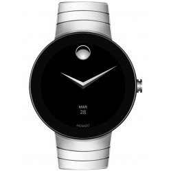 Movado Connect Silver Steel Smartwatch 3660017