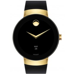 Movado Connect Gold Black Smartwatch 3660014
