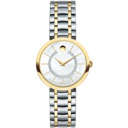 Movado Ladies 1881 Automatic Mother Of Pearl Watch 0606921