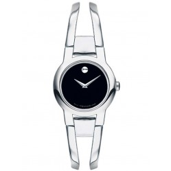 Movado Ladies Amorosa Black Watch 0604759